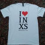 I Love INXS Original Sin Tee