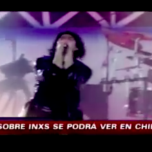 INXS Never Tear Us Apart TV Mini Series Featured on Chilean News